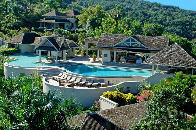 Ideal for Large Groups, Chef & Butler, Infinity Pool, Tennis Court, Exclusive Gated Community - Image 1 - Montego Bay - rentals