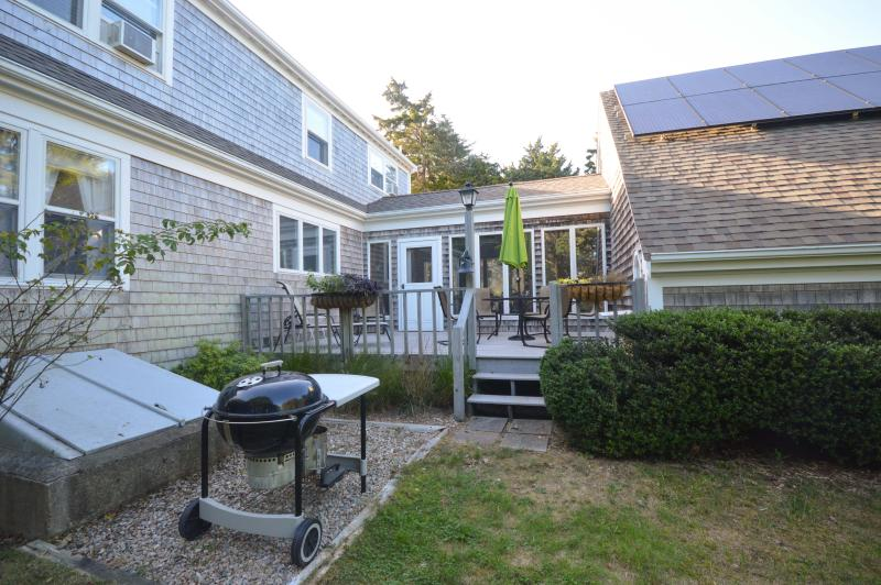 Great private outdoor spaces surround this home. - 6 min walk from Nauset Beach, Large 3 Bed, 2.5 Bth - Orleans - rentals