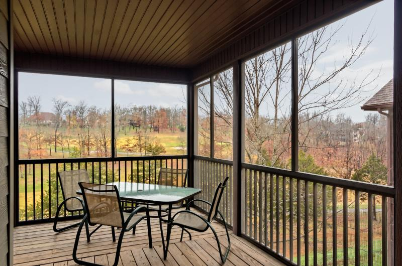 View from Deck - Family Reunion & Large Groups, Easy Elderly Access - Branson - rentals