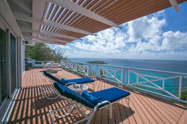 Ballena Blue: Panoramic Views of Hart Bay and St. Croix! - Image 1 - Cruz Bay - rentals