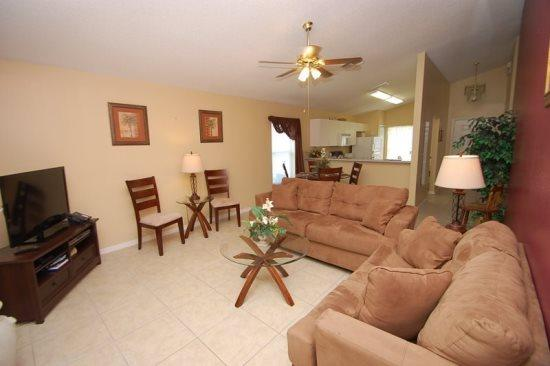 Westridge 4 Bedroom 2 Bathroom Pool Home. 114DW - Image 1 - Orlando - rentals