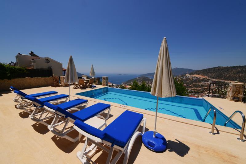 4 Bedroom Villa Baynur Perfect Sea Views Of Kalkan - Image 1 - Antalya - rentals