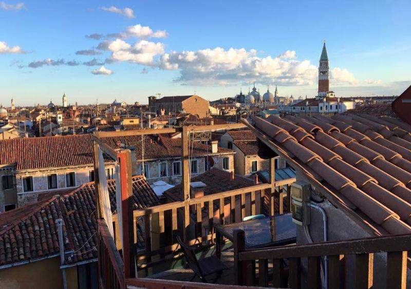 Views from the terrasse: San Marco - Altana Albachiara The best view of Venice - Venice - rentals