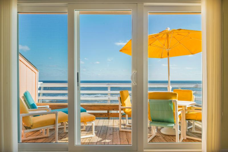 "180 degrees oceanfront View! As some say "" Million Dollar View!!! - 180 Degrees Oceanfront View!!! Top Floor End Unit! - Carolina Beach - rentals"