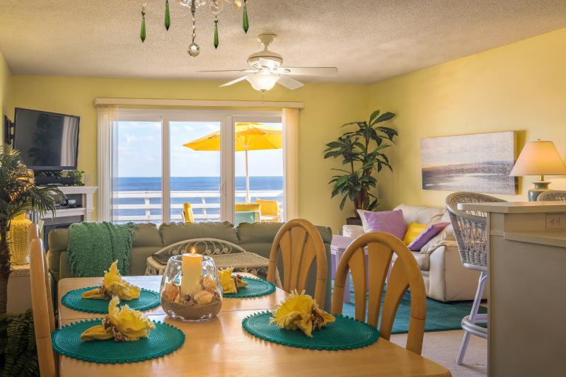 Wow! What a Fantastic View...Just As You Open The Door!!! - 180 Degrees Oceanfront View!!! Top Floor End Unit! - Carolina Beach - rentals