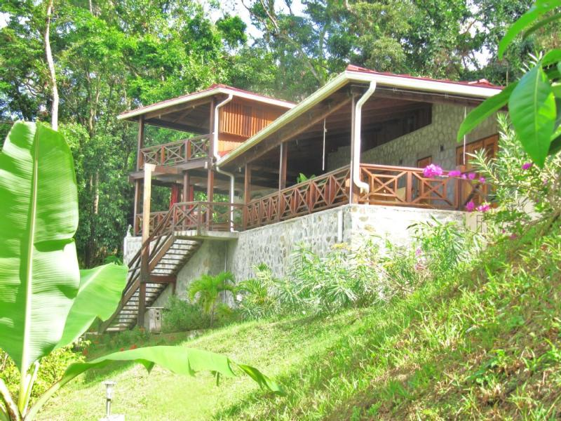 Holiday home in the Caribbean with pool & sea view - Image 1 - Castries - rentals