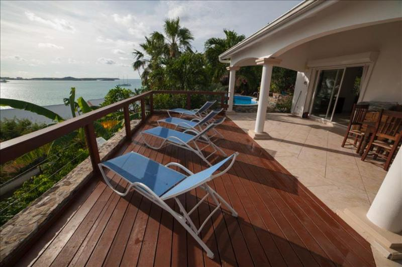 Affordable 6 bedroom colonial styled villa with great view - Image 1 - Marigot - rentals