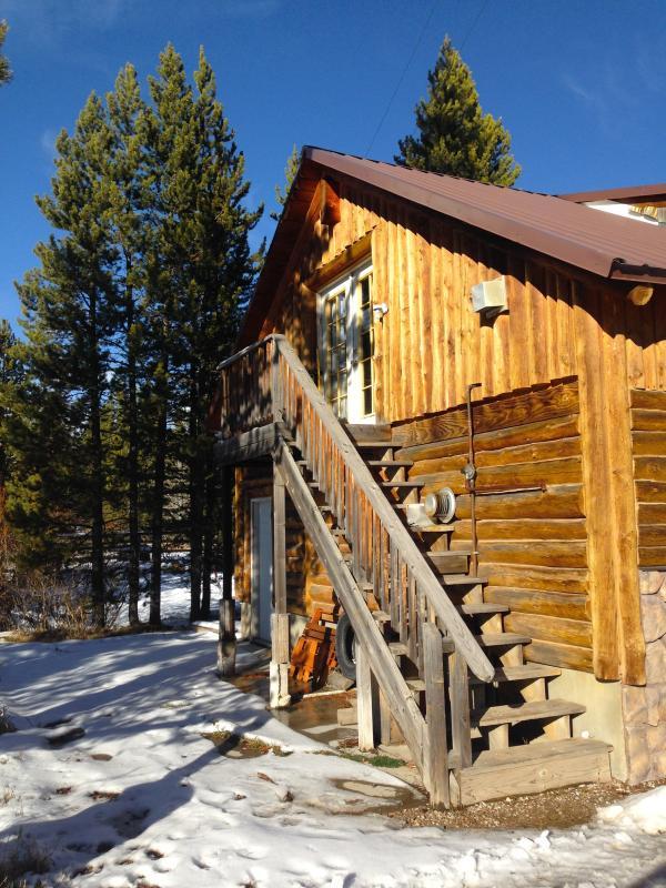 Apartment entrance - Lovely Location on Hotel Creek   1 Bedroom   1 Bath   Sleeps 4 max - Island Park - rentals