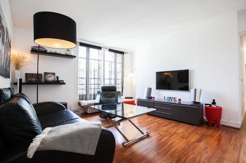 Living room - Designer flat 3 BR Etoile - P16 (Arc of triumph) - Paris - rentals