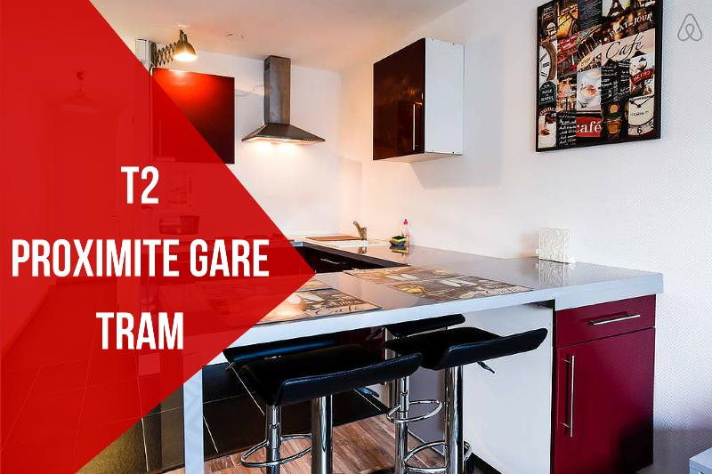 Warmly colored apartment with a delightful view. - FLAT BORDEAUX TRAIN STATION - Bordeaux - rentals