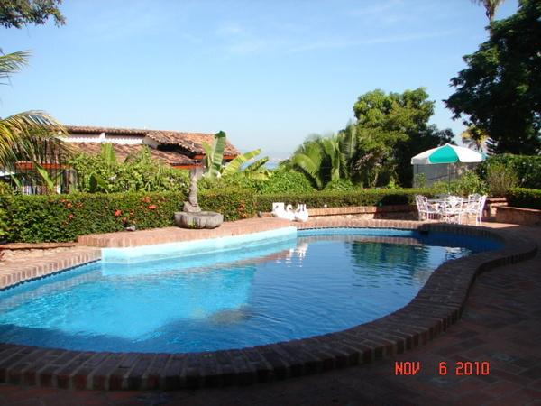 Beautiful pool looking out to the bay. - Casa Carmelina - Puerto Vallarta - rentals