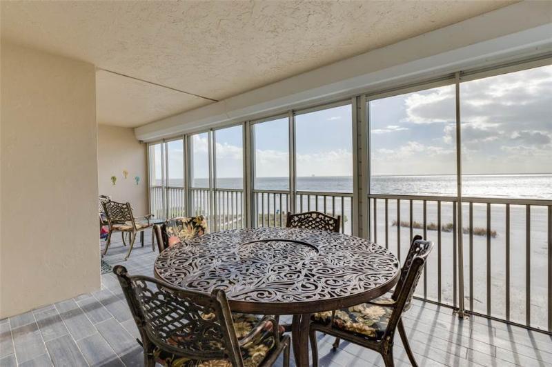Gateway Villa 397, 2 Bedrooms, Gulf Front, Elevator, Heated Pool, Sleeps 6 - Image 1 - Fort Myers Beach - rentals