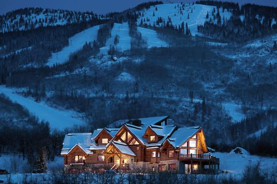 Lookout Lodge perched high above the valley floor - Lookout Lodge - Steamboat Springs - rentals