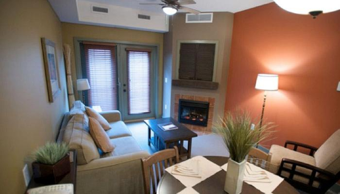 Retreat to this beautiful condo after a day at the pool or wine touring. - 2 Bedroom Family Condo | Spirit Ridge Resort, Osoyoos - Osoyoos - rentals