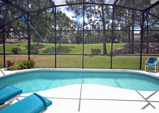 Open Plan 4 Bedroom 3 Bath Pool Home with Fairway View. 2745KL - Image 1 - Haines City - rentals