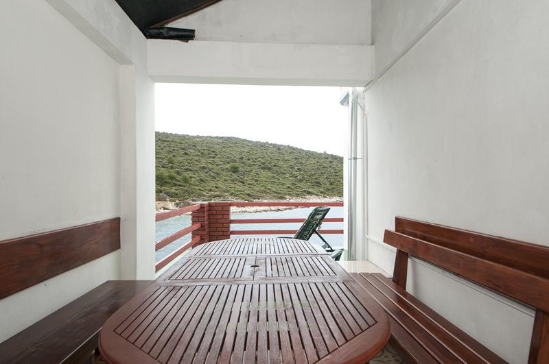 A2(2+2): terrace - 3424 A2(2+2) - Cove Ostricka luka (Rogoznica) - Cove Kanica (Rogoznica) - rentals