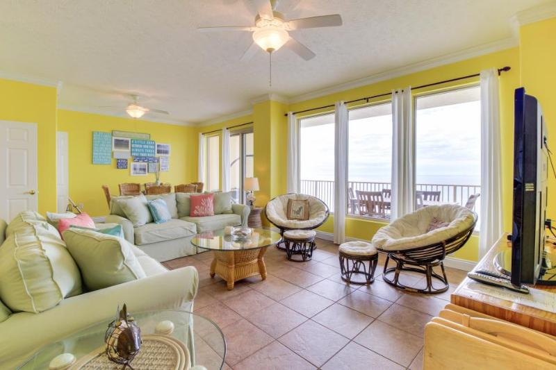 Oceanfront views, beach access, shared pools, hot tub & more! - Image 1 - Panama City Beach - rentals