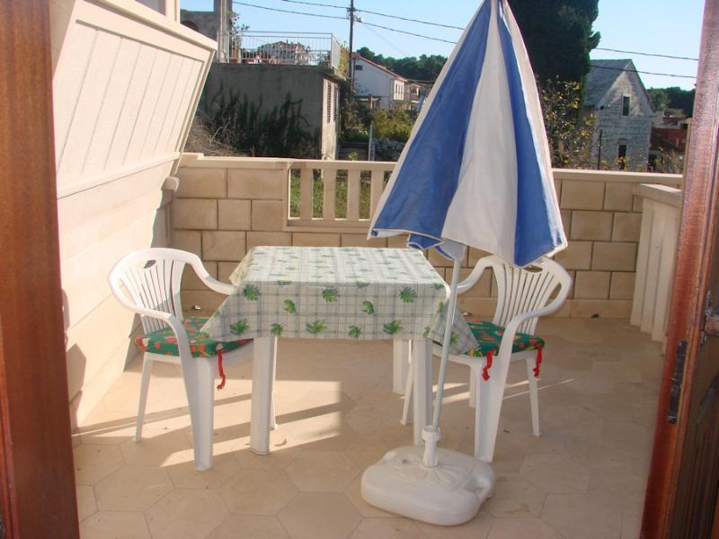 R1(2): terrace - 5085  R1(2) - Sumartin - Sumartin - rentals