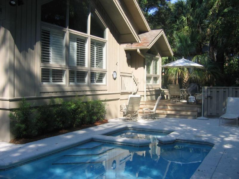 Pool Area - 5 Bald Eagle - Hilton Head - rentals