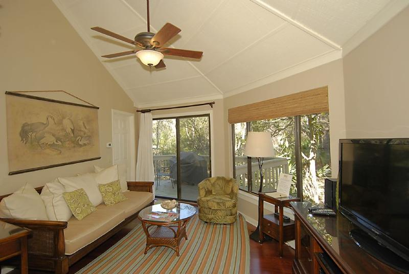 Living Room - Located in Sea Pines, 5 Minute Walk to Beach - Hilton Head - rentals