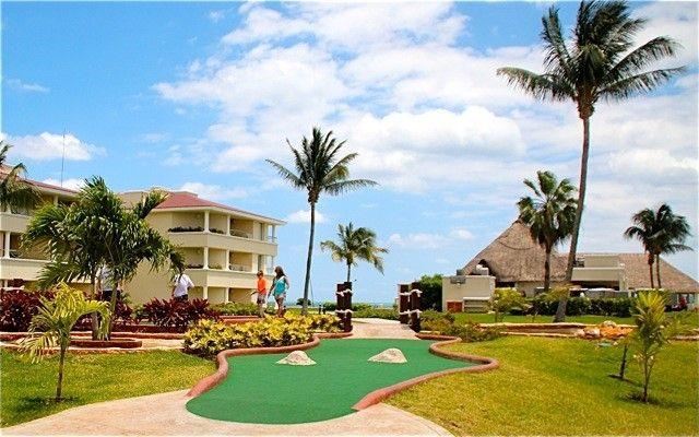 View of the resort from the miniature golf course - Moon Palace, Great Family Vacation w/VIP benefits - Cancun - rentals