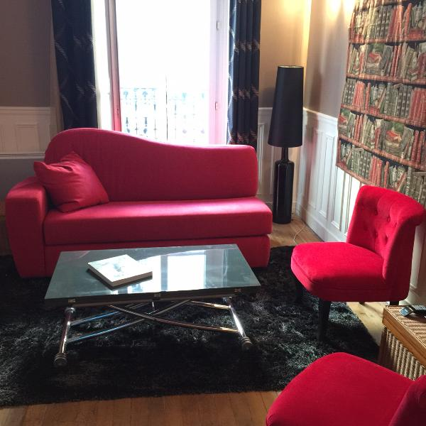 Living room. - Chez Benoit, Your Home away from Home in Paris - Paris - rentals