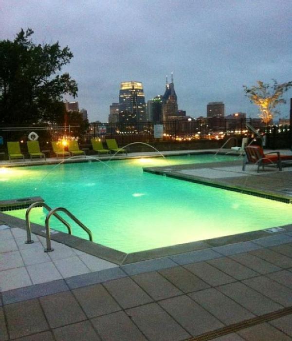 Luxurious Downtown Top Floor 2 Bedroom Condo 604 - Image 1 - Nashville - rentals