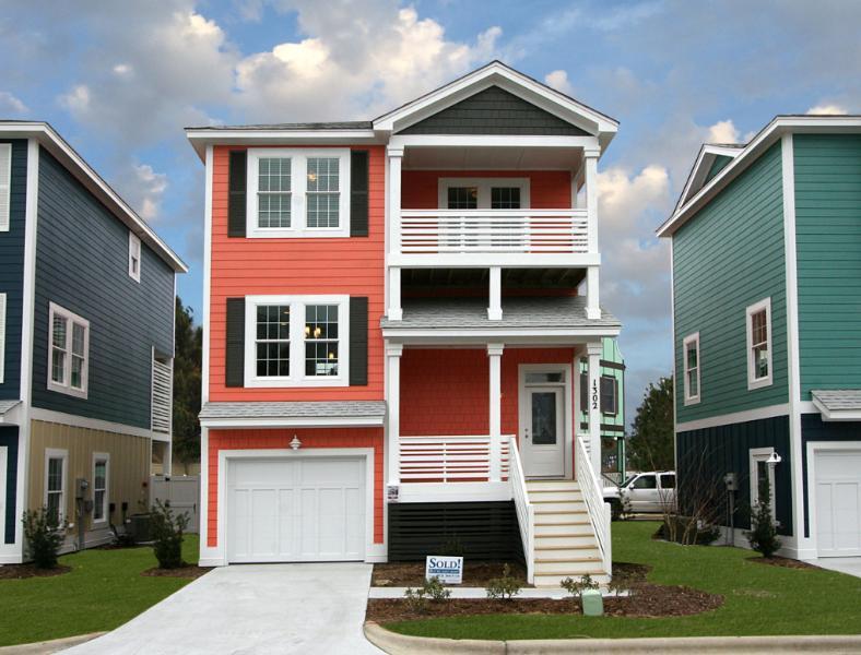 Devonshire Place Argus Model exterior - Devonshire Place 2 BR Argus Model - Brand New! - Kill Devil Hills - rentals