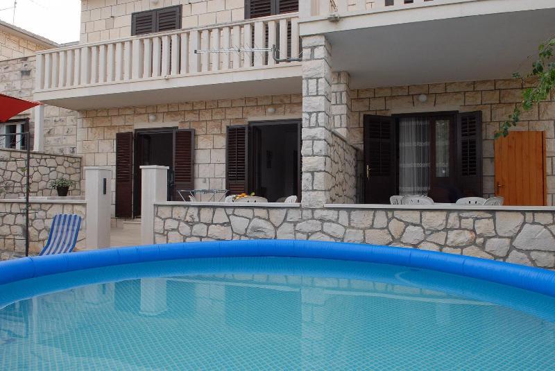 A1(7): swimming pool - 03201SUPE  A1(7) - Supetar - Supetar - rentals