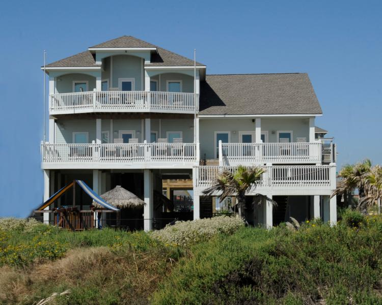 Enjoy the view on any of these spectacular decks! - Just Breathe * No Booking Fee! *Beachfront - Crystal Beach - rentals
