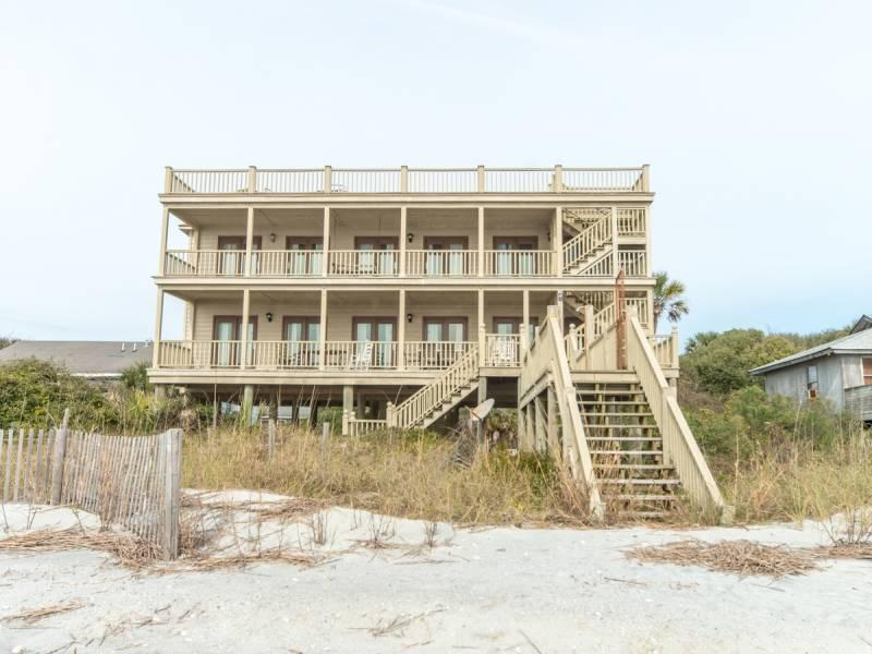 Oceanfront Elevation - Absolute Best View - Folly Beach, SC - 3 Beds BATHS: 3 Full - Folly Beach - rentals