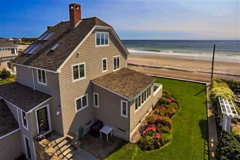 Stunning oceanfront home w/au pair suite close to KBIA! - Image 1 - Kennebunk - rentals
