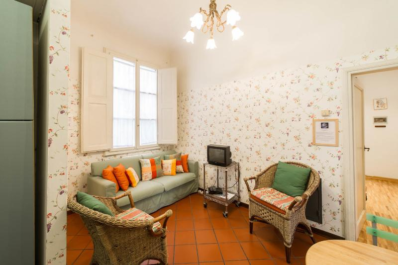 Living Room - SPRING 20%OFF: cozy apart.2 bedrooms  by the Duomo - Florence - rentals