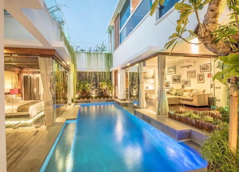 Thyke, Luxury 3 BR Villa, Central Seminyak - Image 1 - Seminyak - rentals