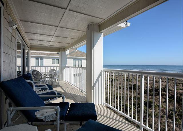 Wrightsville Dunes 3A-E - Oceanfront condo with community pool, tennis, beach - Image 1 - Wrightsville Beach - rentals