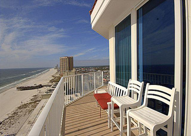 Balcony 1 - Lighthouse 1418 - Offering Discount$ on Open Fall/Winter Dates - Gulf Shores - rentals