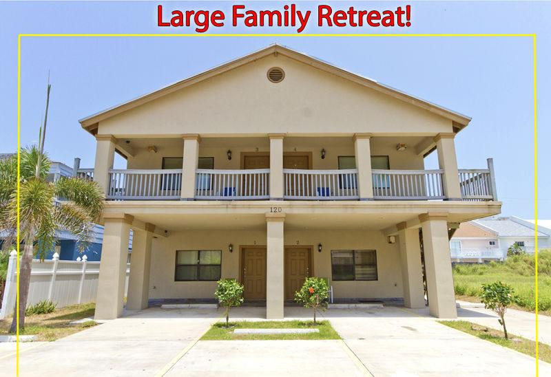 Large fourplex rental perfect for family groups or friends - 120 E Lantana #1,#2,#3,#4 - World - rentals