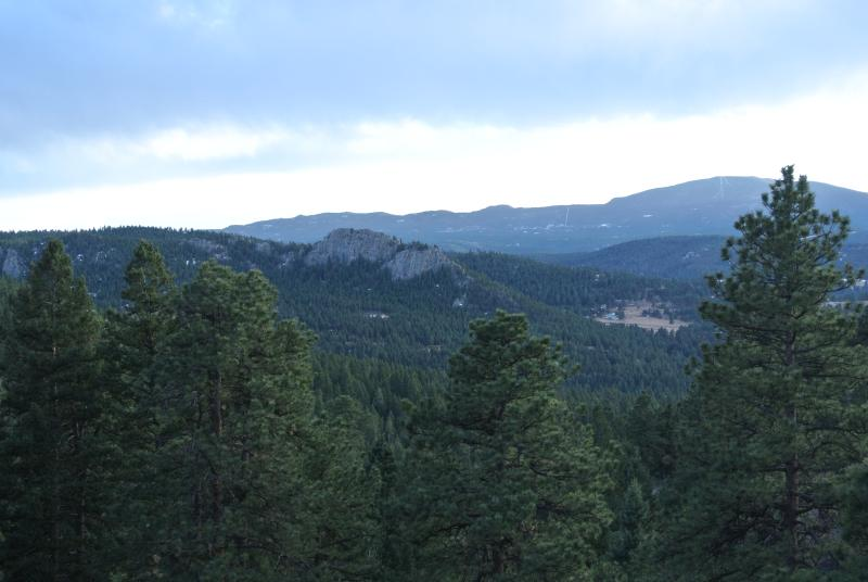 The view from Colorado Dream Vacation - Secluded,5 Minutes to LakeHouse,OptionalGuesthouse - Evergreen - rentals