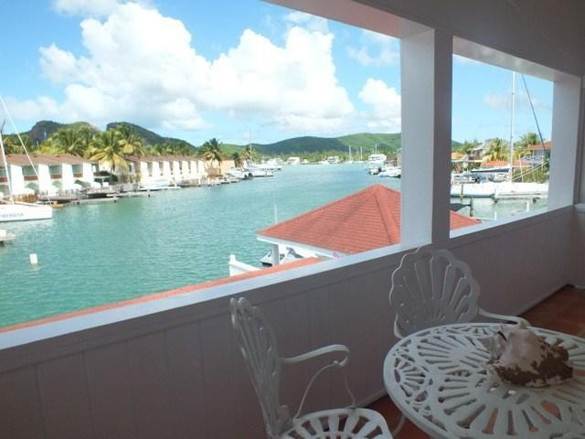 View from balcony - Upper Gatzby, Jolly Harbour, Antigua - Jolly Harbour - rentals