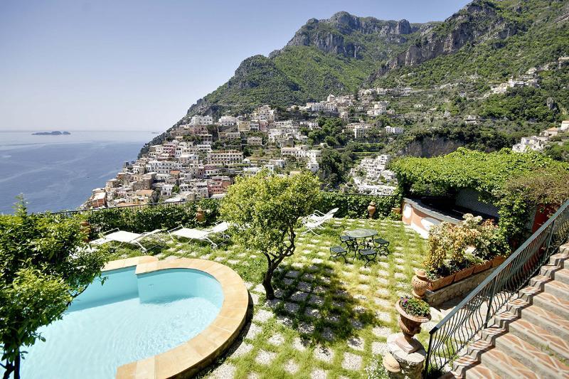 Villa Affresco, Sleeps 14 - Image 1 - Positano - rentals