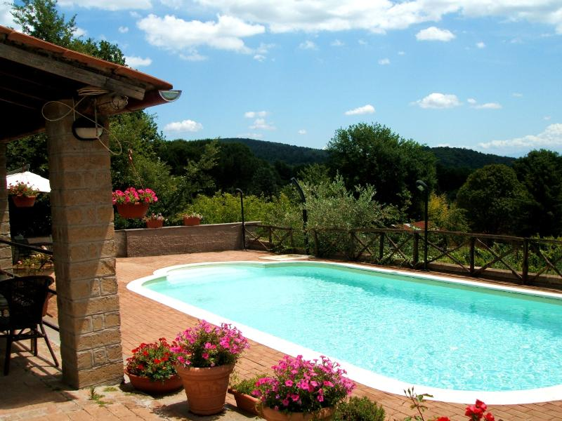 Country villa with swimming pool nearby Rome - Image 1 - Manziana - rentals