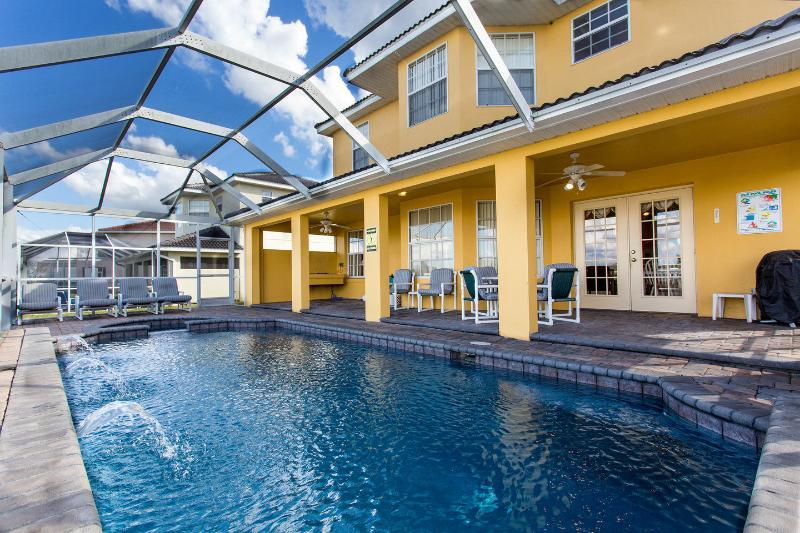 The Pool - DizneyVista Villa - 5 Bed home with pool spa & bbq - Davenport - rentals
