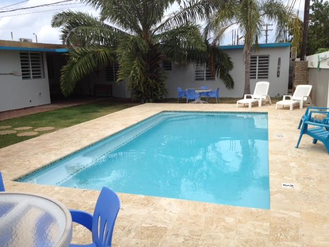 Pool Area - PALMAS VACATION RENTALS / QUEEN ANGEL FISH VILLA - Aguadilla - rentals