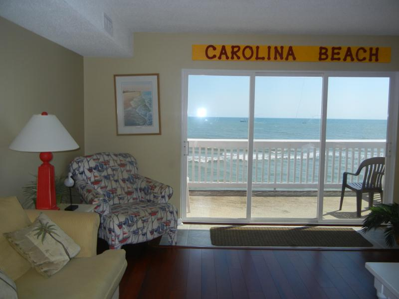 Sun Skipper Ocean Front Top Floor - Image 1 - Carolina Beach - rentals
