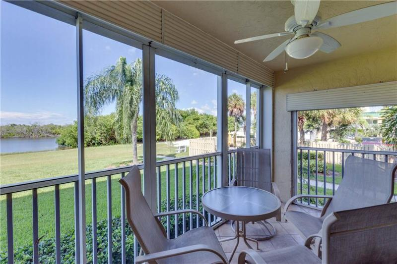 Sand Caper 103, 2 Bedrooms, Gulf Front, Elevator, Heated Pool, Sleeps 4 - Image 1 - Fort Myers Beach - rentals