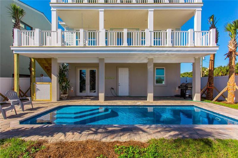 Sea Salt, 5 Bedrooms, Beach Front, Private Pool, Sleeps 12 - Image 1 - Saint Augustine - rentals