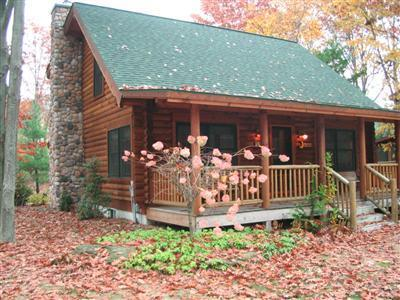 Welcome to your log cabin home! - Sugar Shack - Luxury Log Home at Goshorn Lake - Saugatuck - rentals