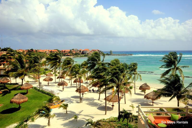 Gorgeous Beach Penthouse Villa Del Mar C Building! - Image 1 - Puerto Aventuras - rentals