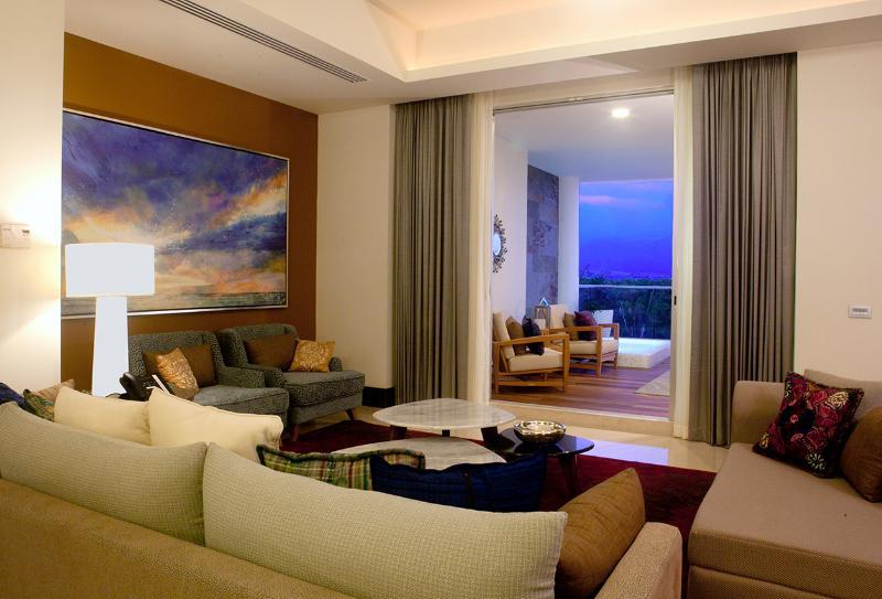 The beautiful view from the living room. - Grand Luxxe Punta 1-bdrm villa In Nuevo Vallarta - Nuevo Vallarta - rentals