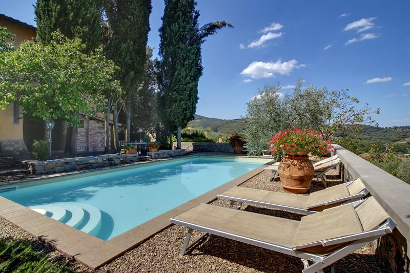 Lovely Tuscan Villa with Swimming Pool and Views - Villa Elettra - Image 1 - Figline Valdarno - rentals